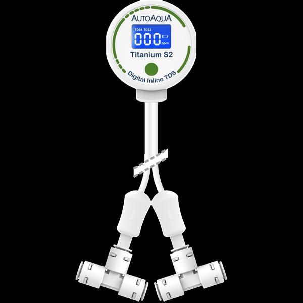 AutoAquaデジタル インラインTDSメーターS2